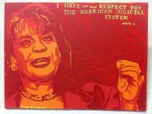 Angela Corey, as painted by George Zimmerman